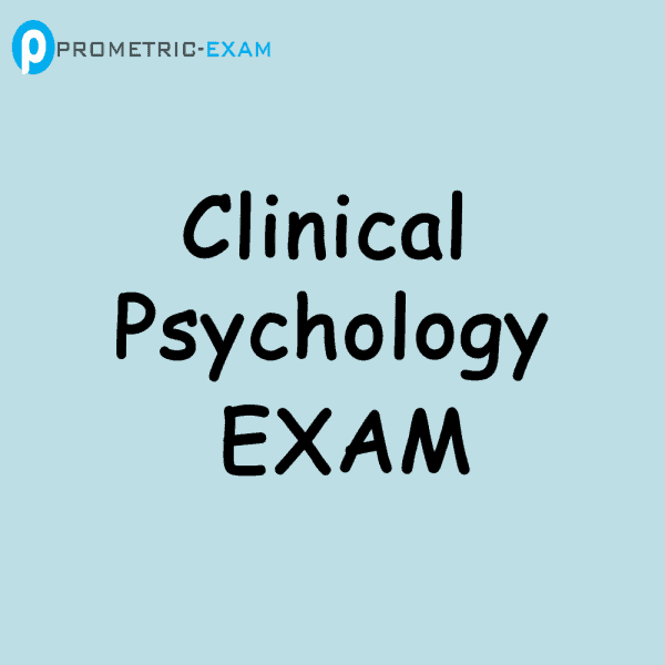 Clinical PsychologyPrometric Exam Questions (MCQs)