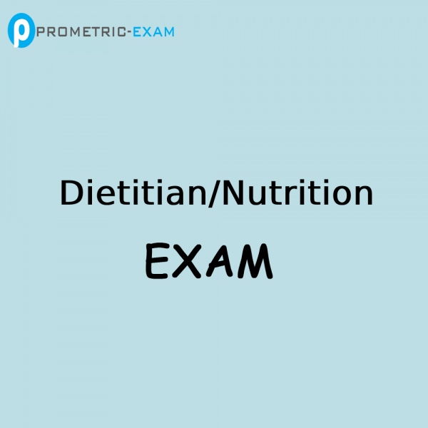 Dietitian NutritionPrometric Exam Questions (MCQs)
