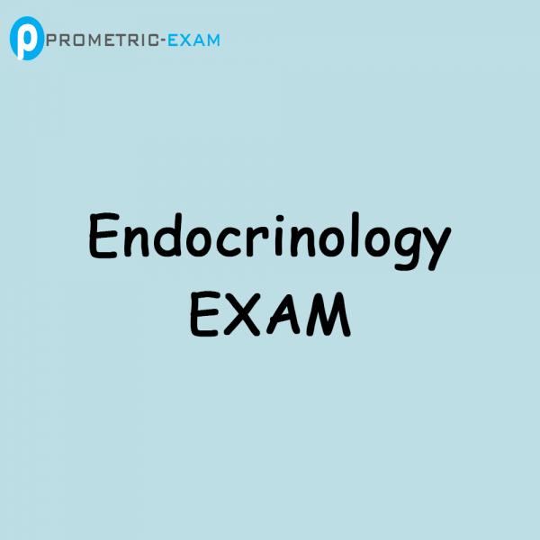 EndocrinologyPrometric Exam Questions (MCQs)